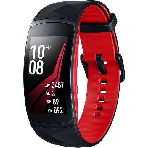 Smartwatch-Samsung-Gear-Fit2-Pro-Preto-e-Vermelho-Pulseira-G-1