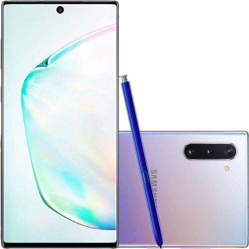 Celular-Samsung-Galaxy-Note-10-Prata-256GB-8GB-Ram-Camera-Tripla-12MP-16MP-12MP