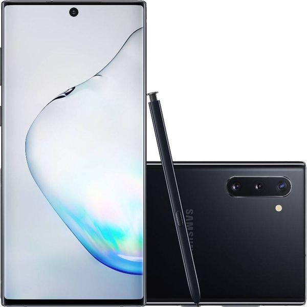 Celular-Samsung-Galaxy-Note-10-Preto-256GB-8GB-Ram-Camera-Tripla-12MP-16MP-12MP