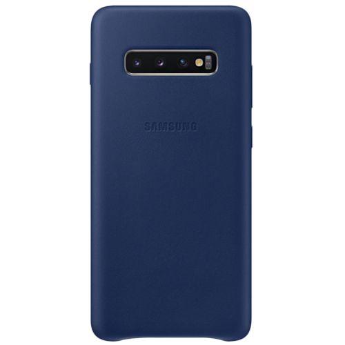 Capa-Protetora-Plus-Couro-Azul-Samsung-Galaxy-S10